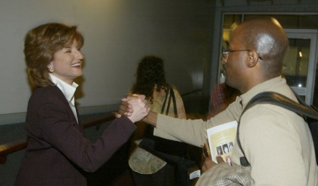Arianna Huffington and Van Jones