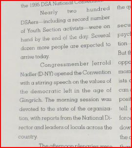 DSA 1995 National Conference report