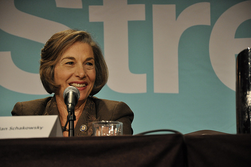 Jan Schakowsky at JStreet Conference, Oct. 26, 2009