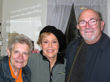 Mickey Flacks, Jane Fonda, Richard Flacks