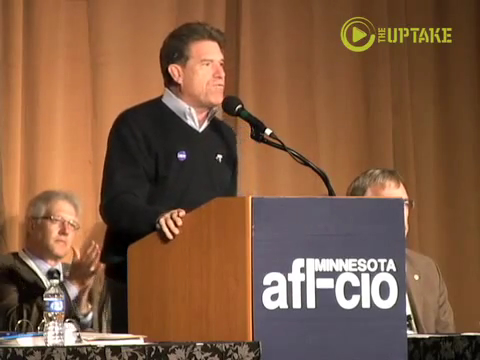 Mark Ritchie addresses Minnesota AFL-CIO