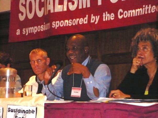 Helmut Scholz-Die Linke,  Chris Matlhako-South African Communist Party, Angela Davis, CCDS